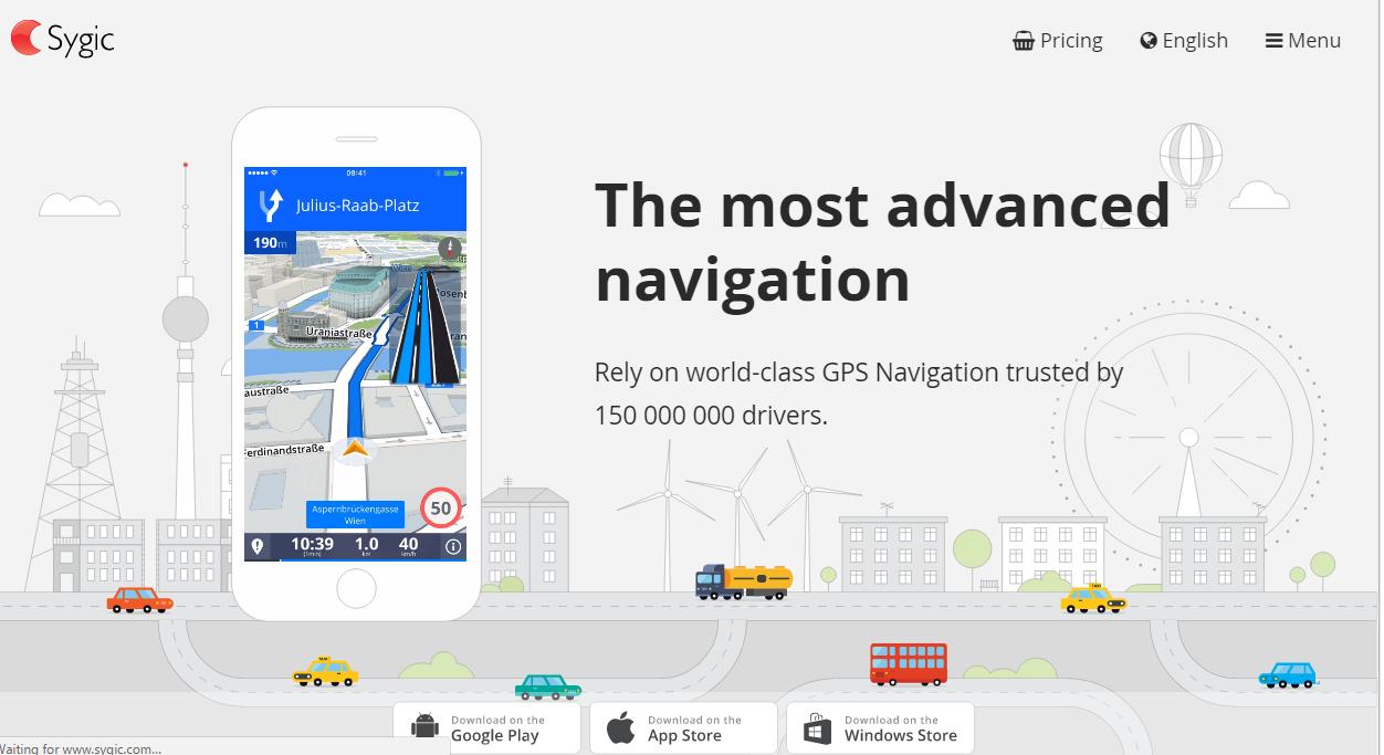 HERE vs  Sygic vs  Navmii vs  Google Maps: Best Map Services